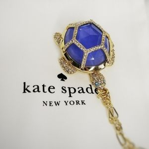 Kate Spade Paradise Found Turtle Locket Necklace